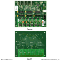 Repair Cost $89 Frymaster UHC-HD Universal Holding Cabinet Distribution Board