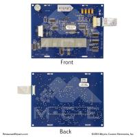 Repair Cost $89 Prince-Castle Steamer Display Board #625-038